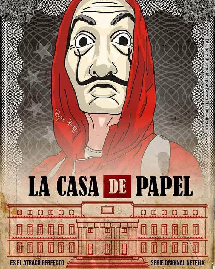 La Casa De Papel Con Imagenes Casas De Papel Las Casas De