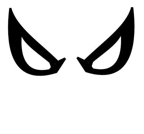lego future foundation spiderman face decal | Spiderman ...