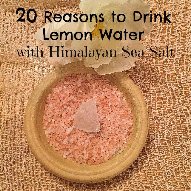 water diet himalayan salt