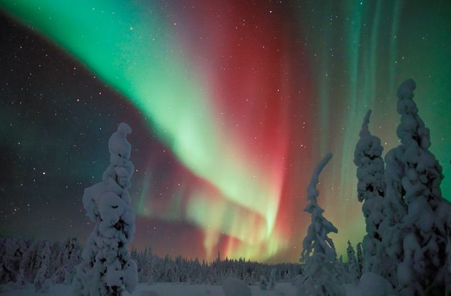 Superior Finland   Best Viewing Locations: Luosto, Nellim, Utsjoki, Ivalo,  KakslauttanenTravel