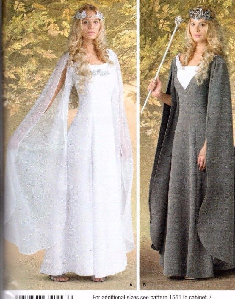 $5.99 - 2014 Simplicity Costumes Sewing Pattern C1551 \
