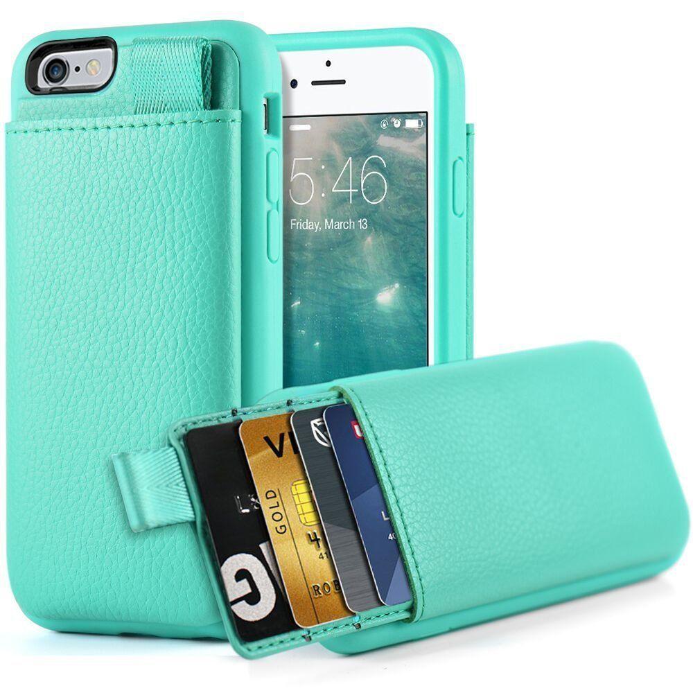 Lameeku iphone 6 plus6s plus wallet casecard case