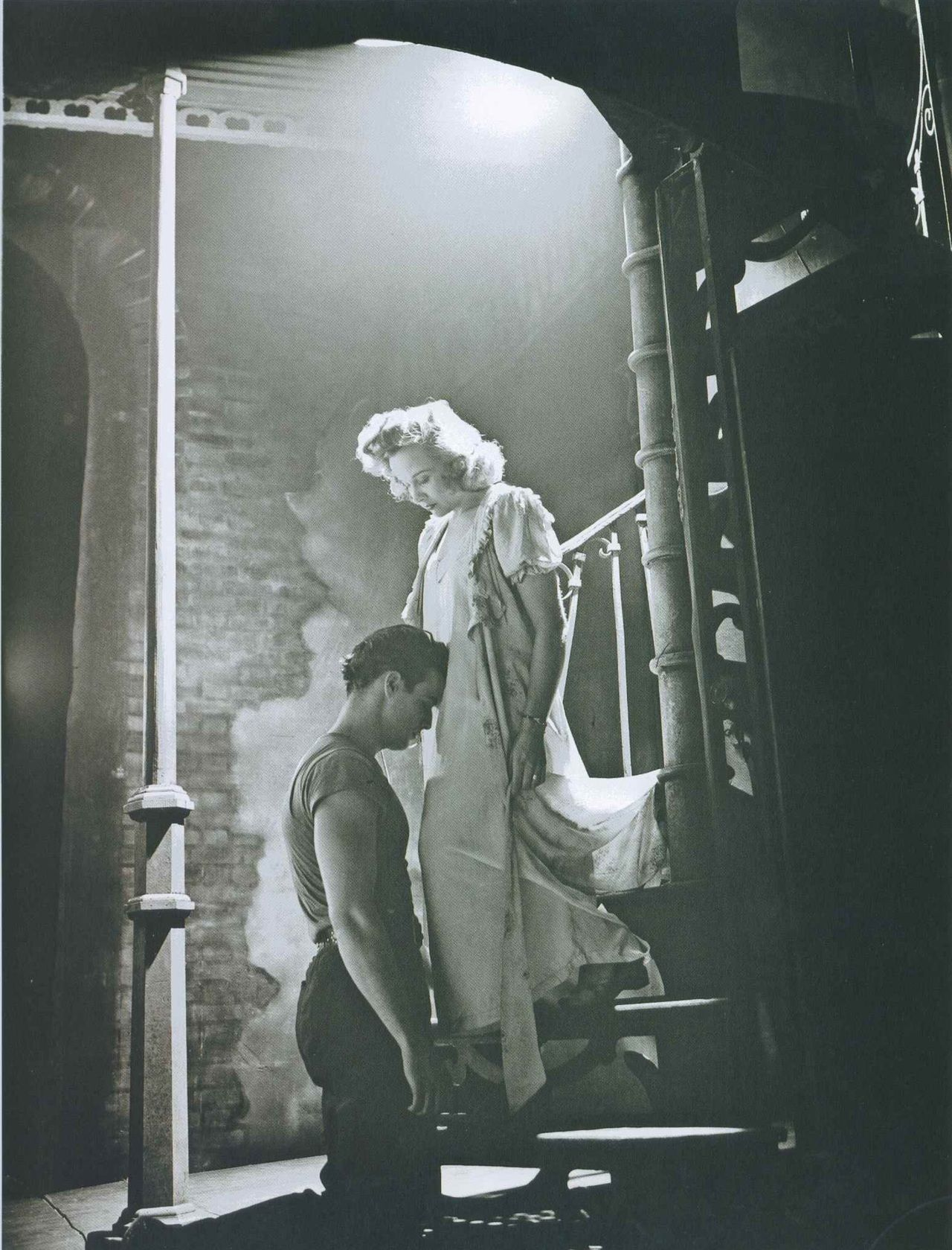 marlon brando and kim hunter a streetcar d desire the play marlon brando and kim hunter a streetcar d desire the play 1947