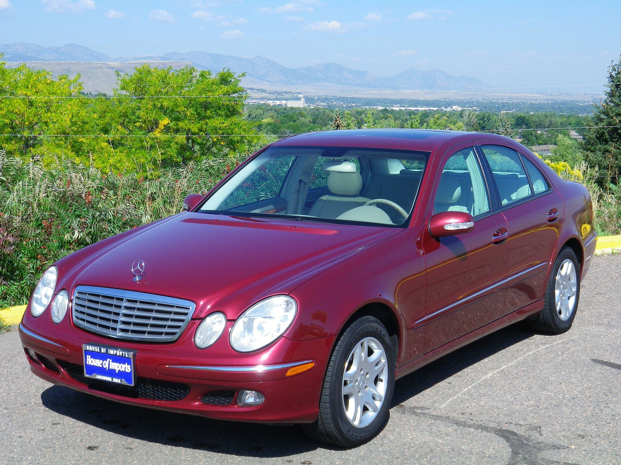 2005 mercedes benz e320 4 matic 102 525 miles v i n for Mercedes benz e320