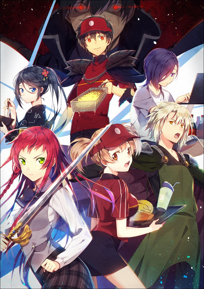 Anime The Devil Is A Part Timer Very Funny Amp Packed With