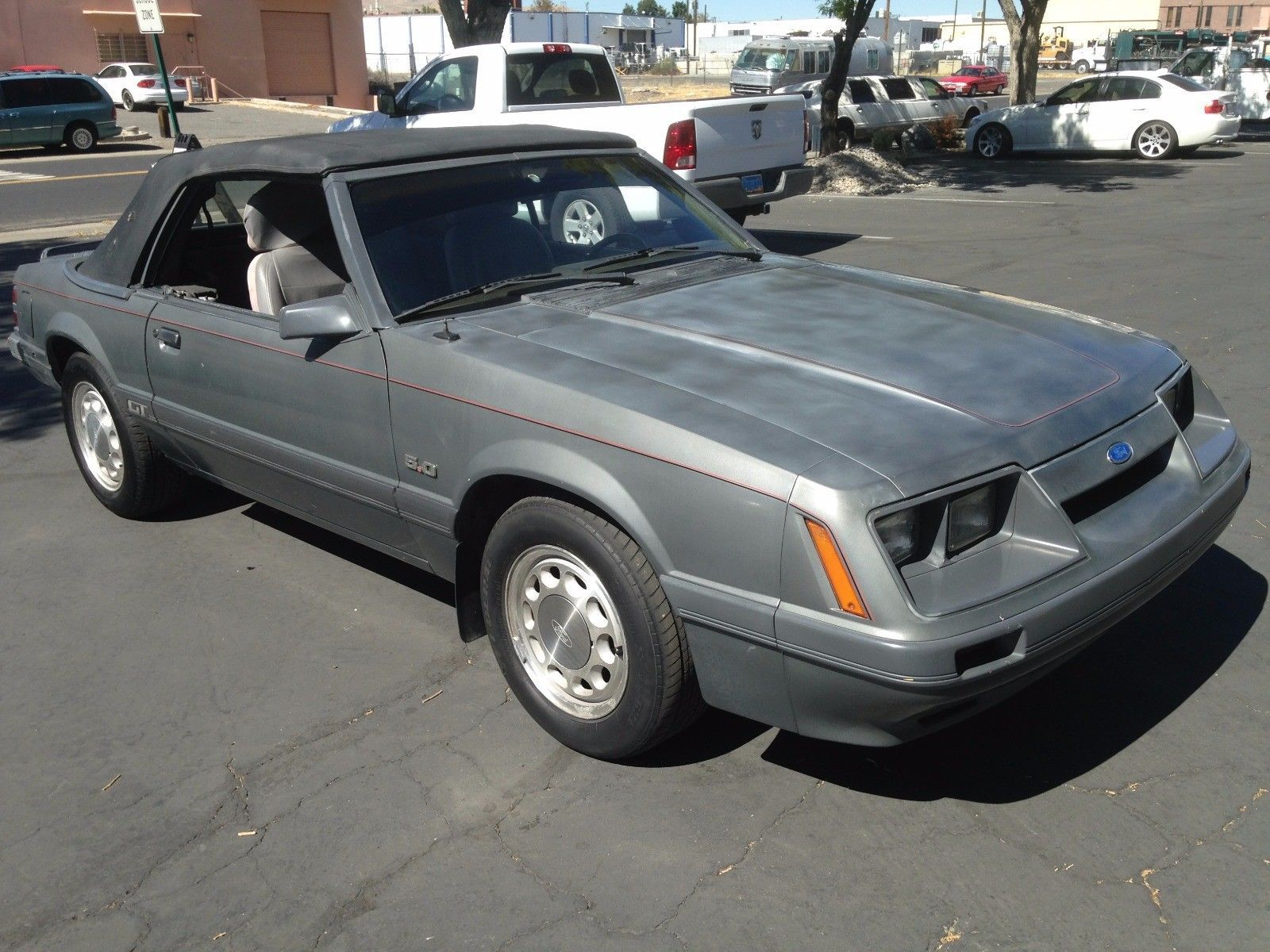 Nice Awesome 1986 Ford Mustang GT 1986 Ford Mustang GT 5.0 eng. 5 sp ...