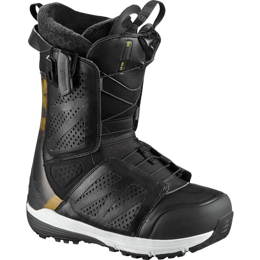 Salomon Snowboards Hifi Snowboard Boot Men S Black Snowboard Boots Boots Snowboard