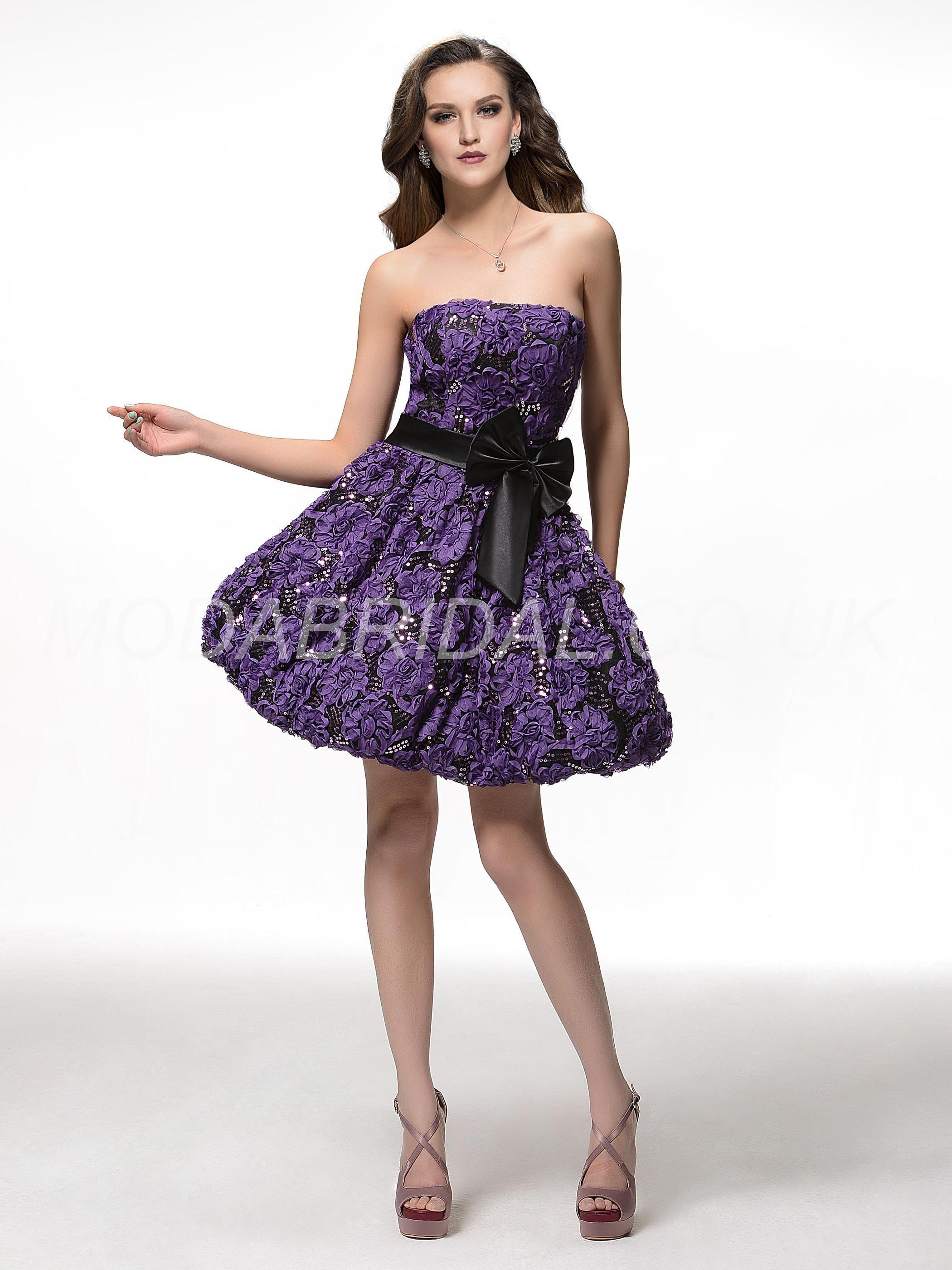 modabridal.co.uk SUPPLIES UK Style All Sizes Zipper-up Spring Purple ...