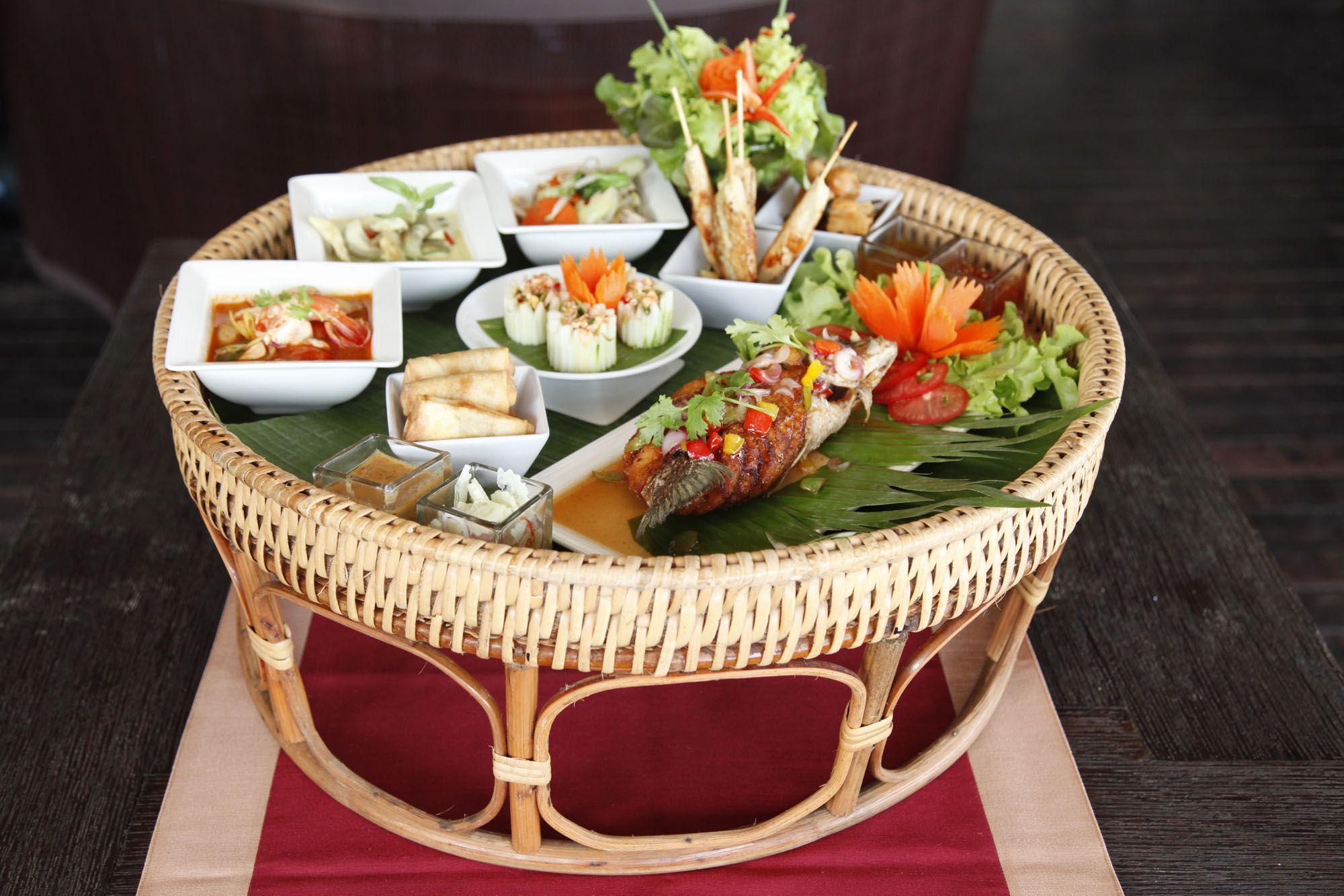 Khantoke a traditional northern thai style kantoke