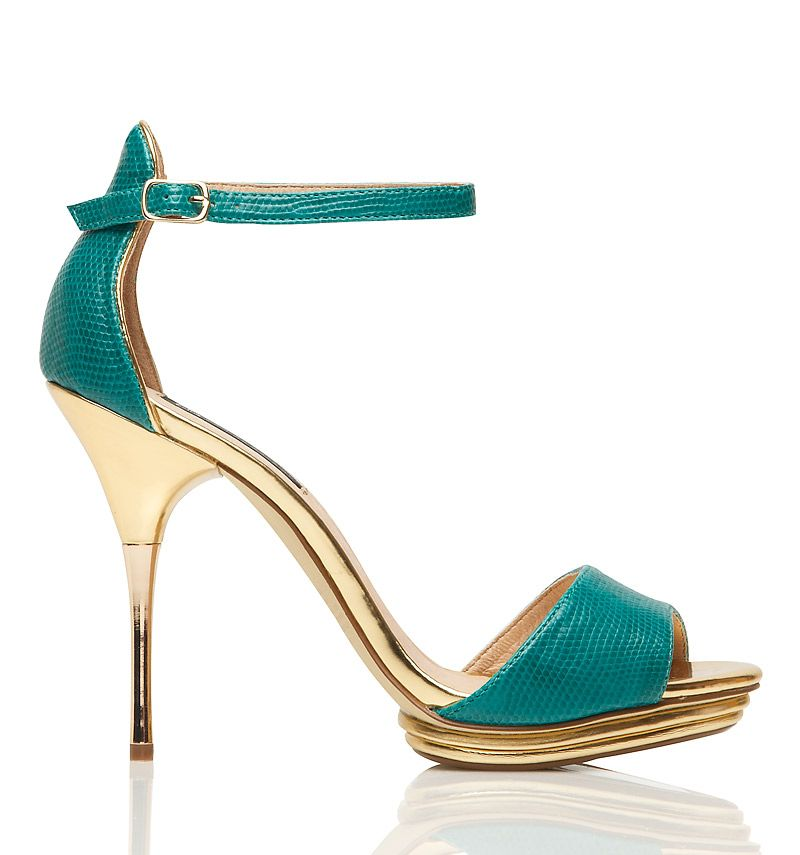4d953f97263b Teal and Gold Heels. Teal and Gold Teal And Gold
