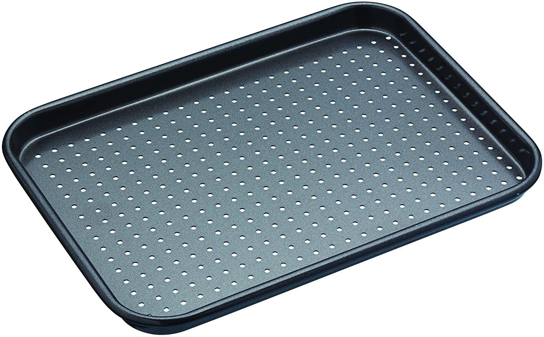 Baking Tray Cookie Sheet Non Stick Biscuit Cake Roast Silver Tin Pan Kitchen