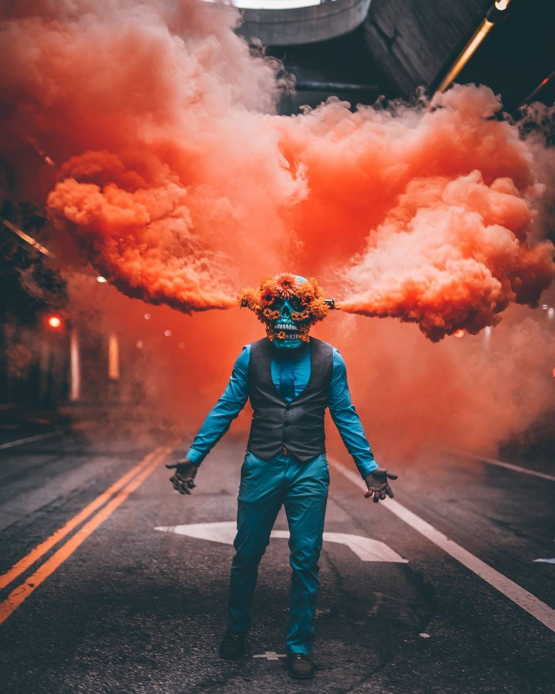 Smoke Bomb Photography, Smoke