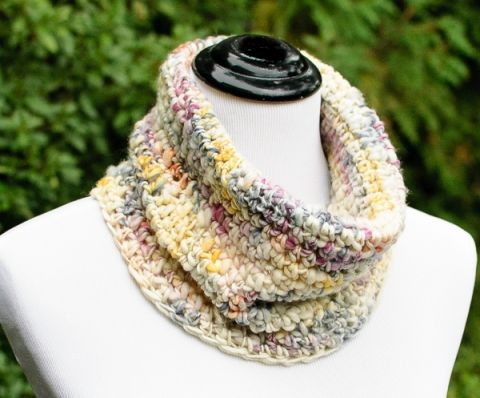 Chunky Crochet Cowl Pattern Perfect For Beginners Chunky