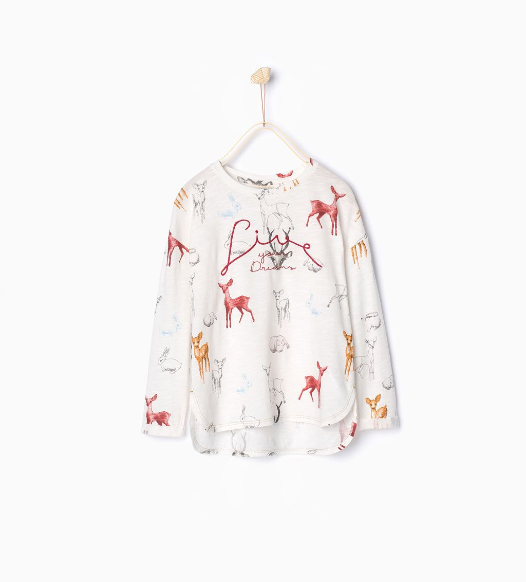 ae92baf0c8 Dolls top-View all-T-shirts-Girl | 4-14 years-KIDS | ZARA United States