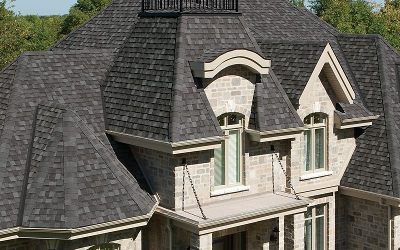 Cambridge Dual Black Roofing By Iko Home Exteriors