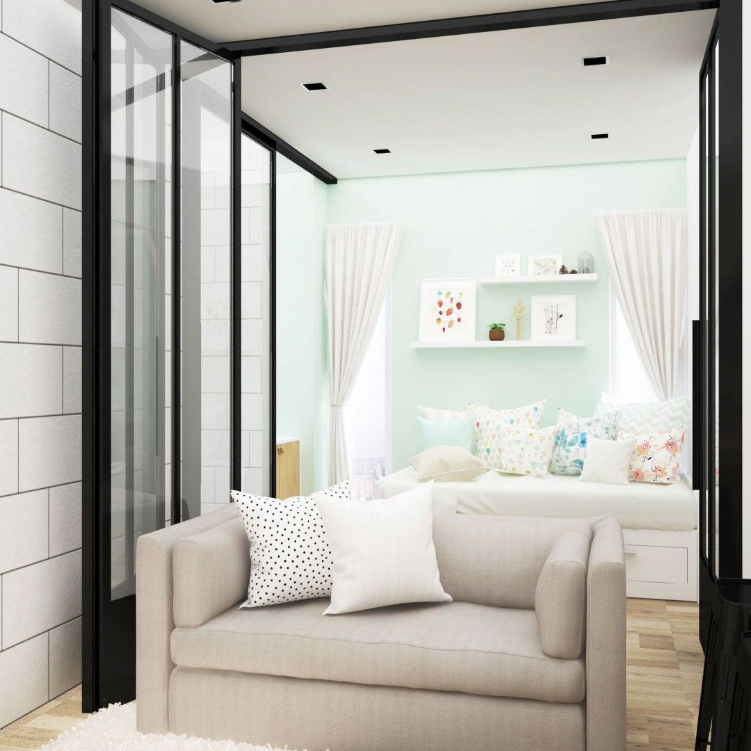 Modern Scandinavian | Living Room | Capitol Park | Jakarta Pusat ...