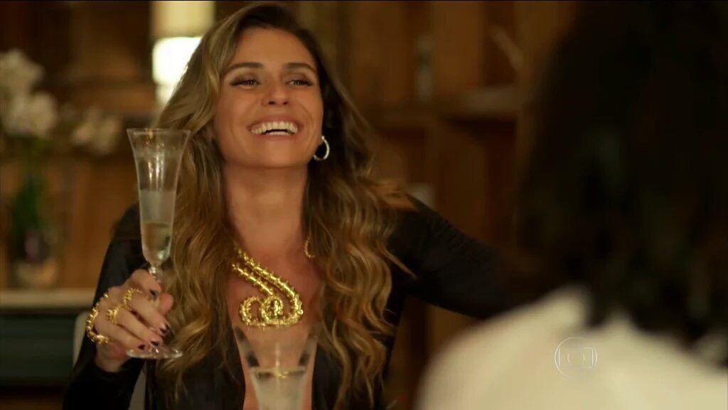 Athena - Giovanna Antonelli - Novela A Regra do Jogo - Colares, Pulseira de mão e anéis Mariah Rovery
