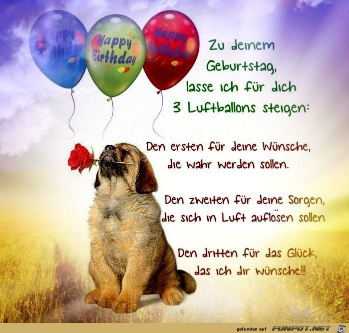 Zu Deinem Geburtstag Happy Birthday Wishes Quotes Happy
