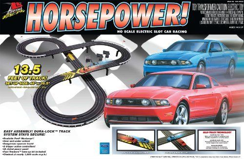 Life Like Horse Power Mustang Electric Slot Car Race Set By Life Like Http Www Amazon Com Dp B003bt50v6 Ref C Slot Car Racing Slot Cars Slot Car Racing Sets