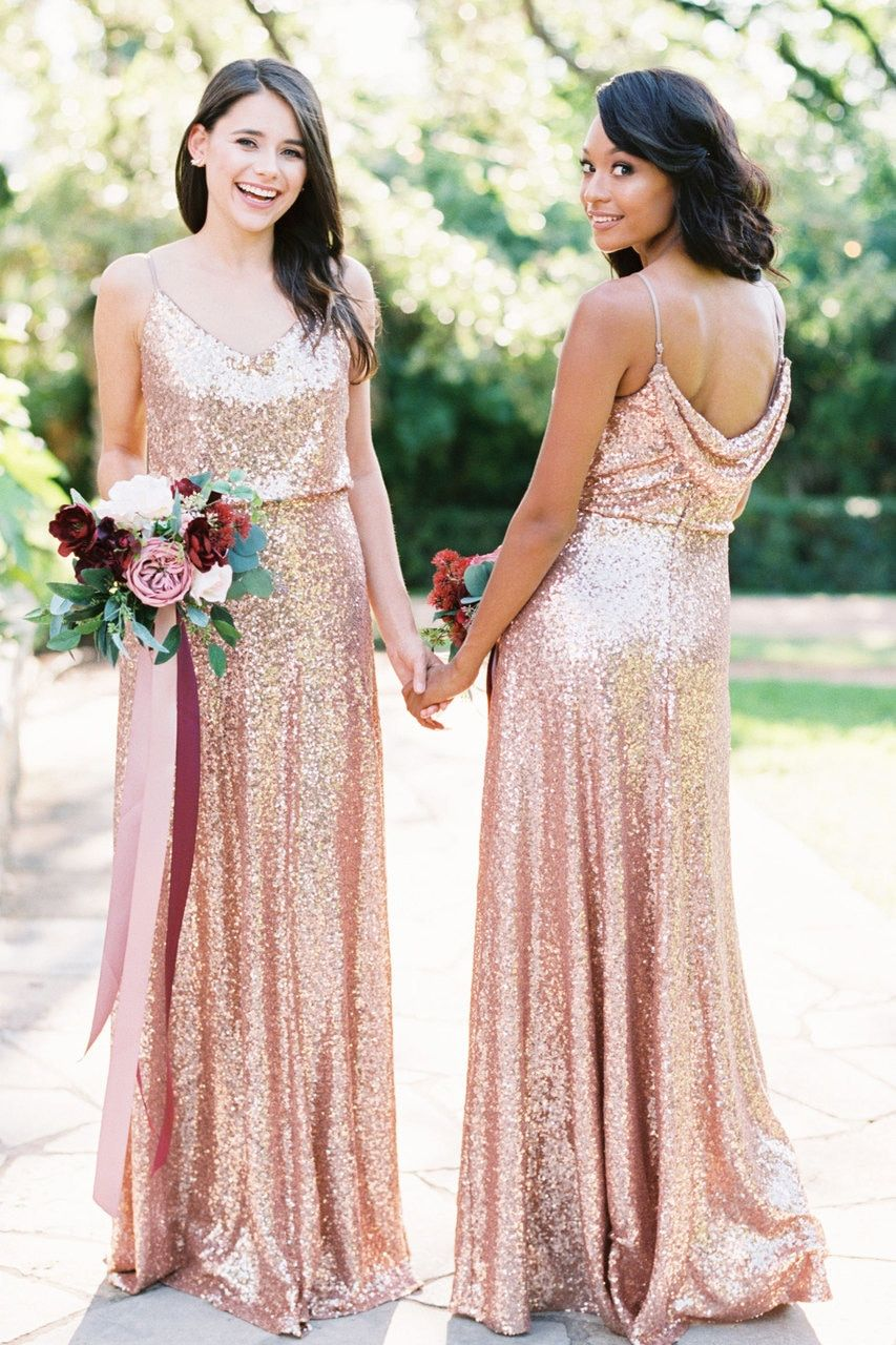 Hazel Sequin Dress Bridesmaid Dresses Pinterest