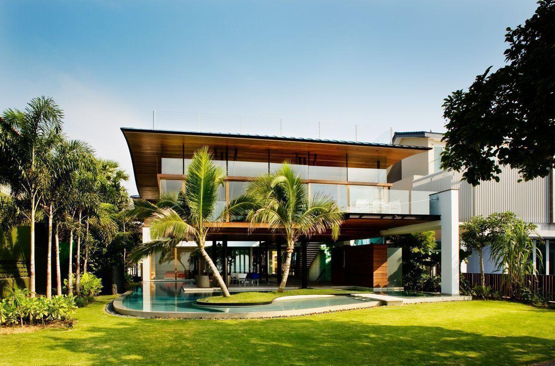 Home design exterieur und interieur house tour milliondollar home in sentosa cove  exterieur huis
