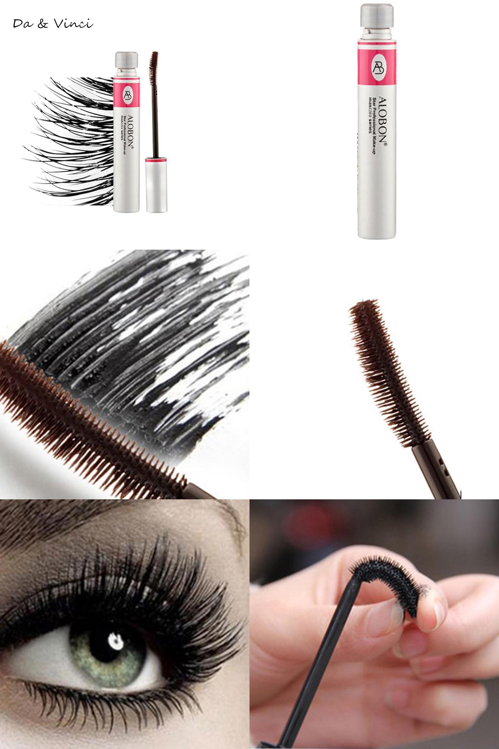 3c3c1e21323 [Visit to Buy] Eyelashes Lengthening Extension Colossal Volume Mascara  Black Ink Alobon 3d Fiber