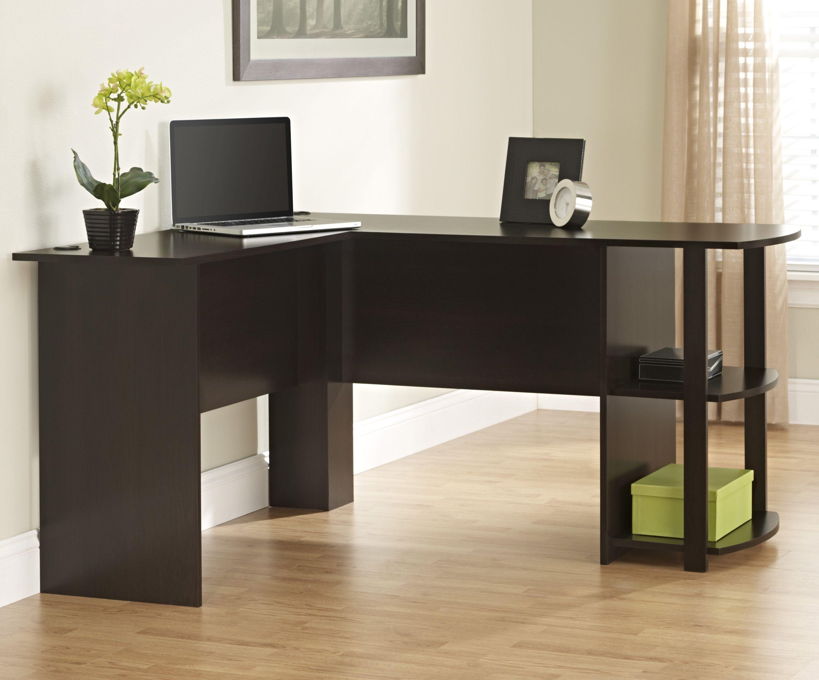 Ameriwood Computer Desk With 2 Shelves