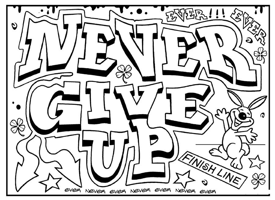 Inspirational Quotes Coloring Pages For Adults Coloring Pages