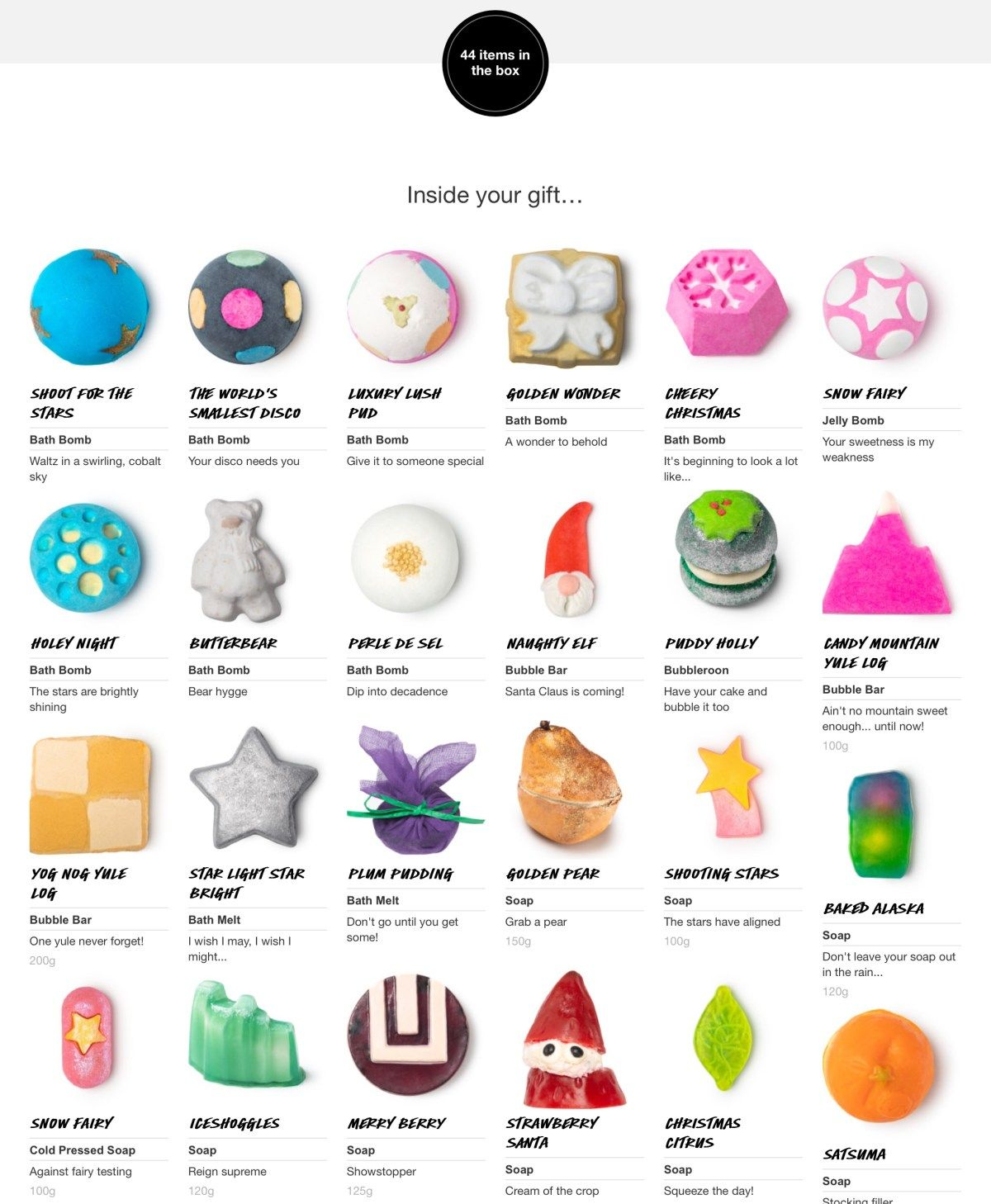 Top 5 Lush Christmas Products Lush Christmas Lush Products
