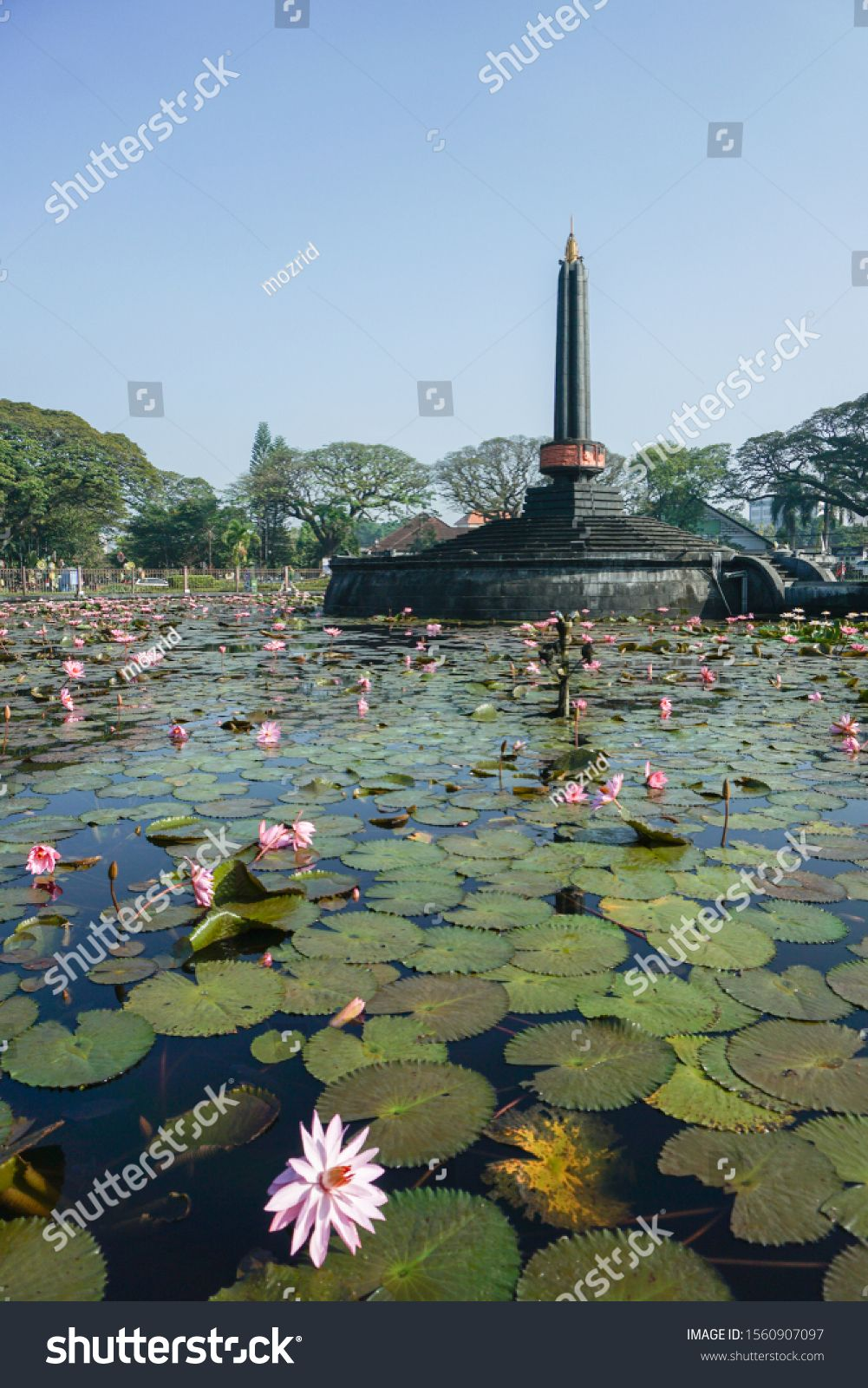 Malang Monument Landscape As The Main Landmark Of Malang City In East Java Indonesia Malang Indonesia December 21 2019 East Java Monument Stock Photos