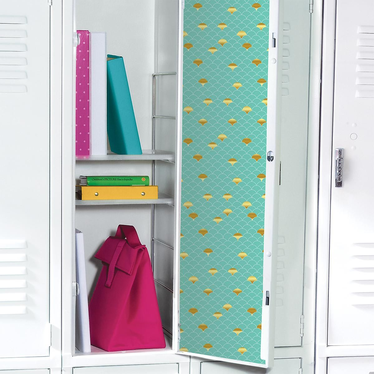 Our Mermaid Locker Wallpaper instantly gives your locker