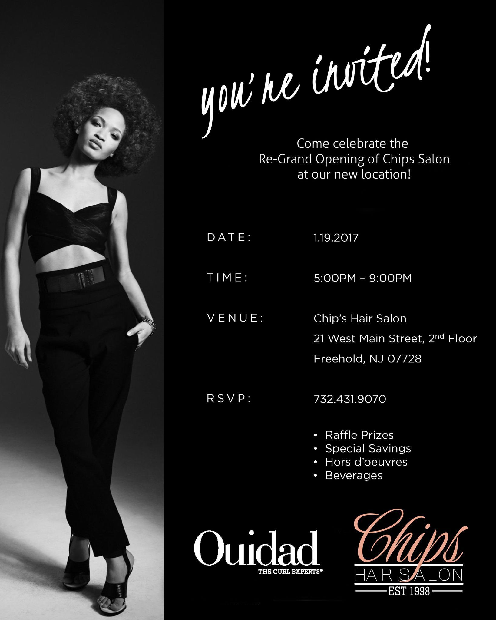 See You In An Hour Chipssalon Grandopening Grandreopening At 5pm