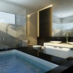 This is the bathroom I want!