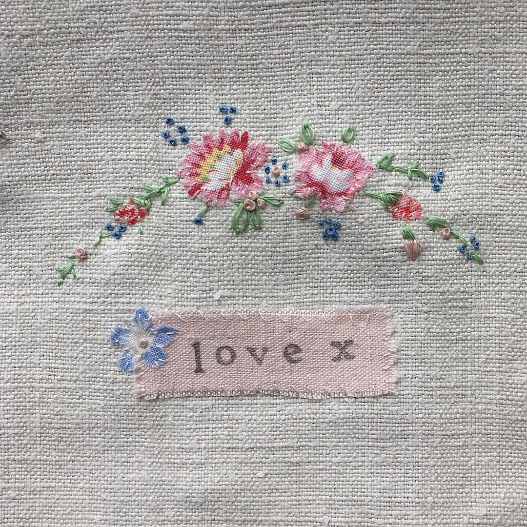 Oh it is just pure sweetness. I want to whip some up. I have not done fine needle work in awhile. This is inspiring me.