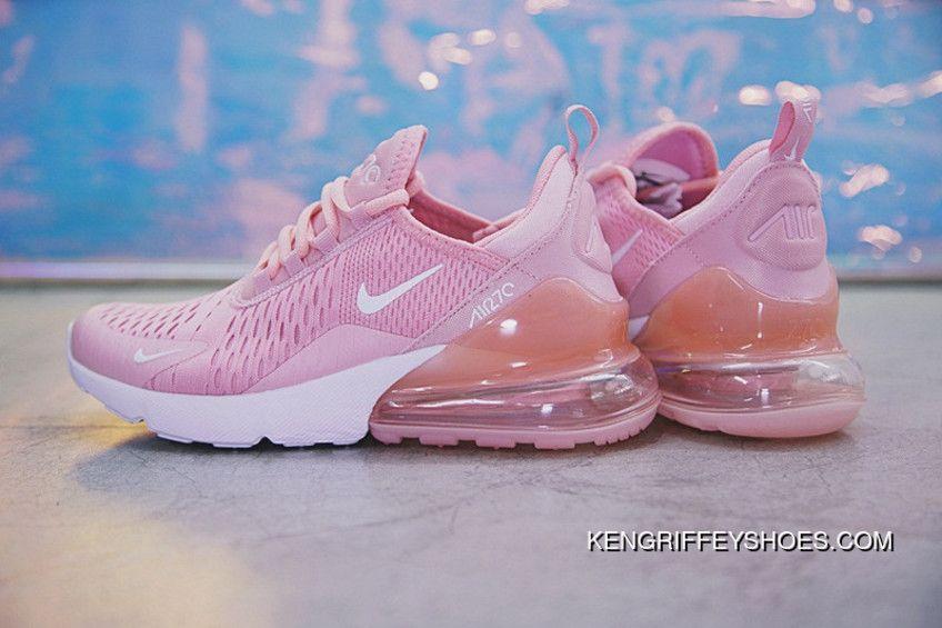 nike air max 270 rosa mujer