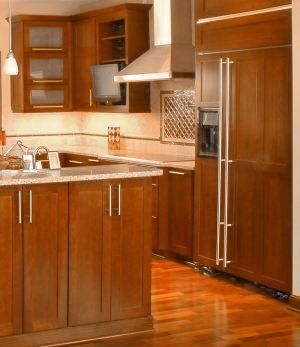 Wood Front On Refrigerator Kitchen Cabinets Brands Kitchen Cabinet Styles Kitchen Cabinets