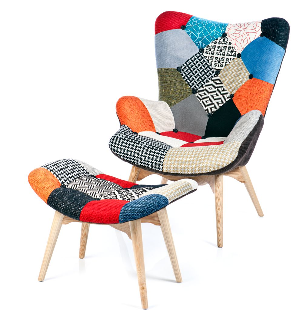 Sillón Featherston Patchwork Seating Pinterest Salon Canapé - Fauteuil patchwork design