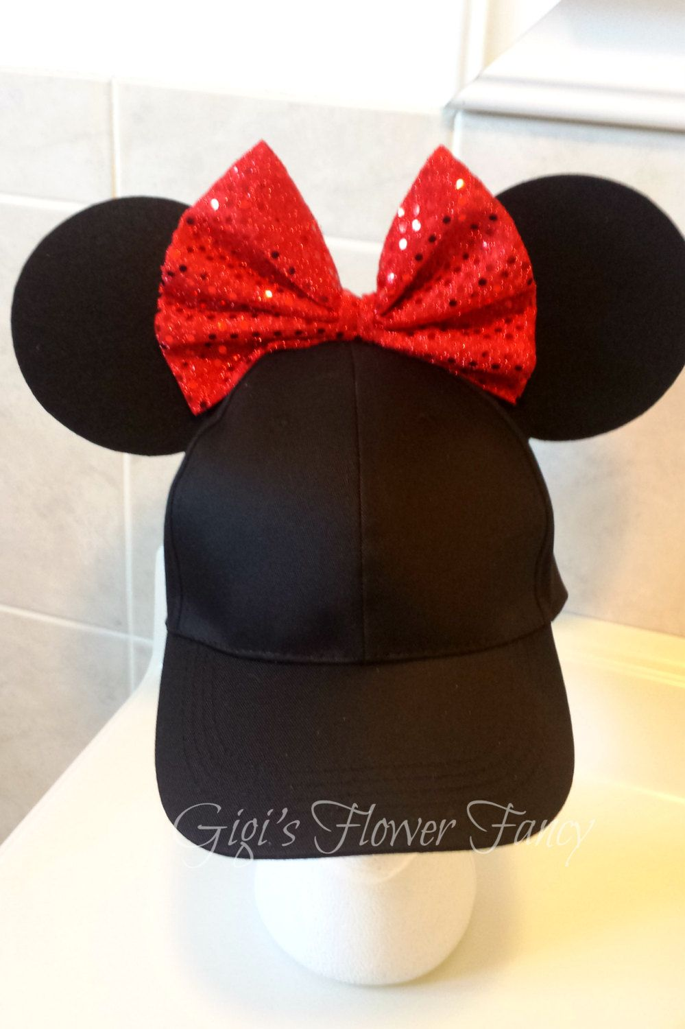 81080c2ac098dc When a headband is not enough - shade your eyes as you walk around the  parks, no need for sunglasses and headband with this awesome Minnie ears hat !
