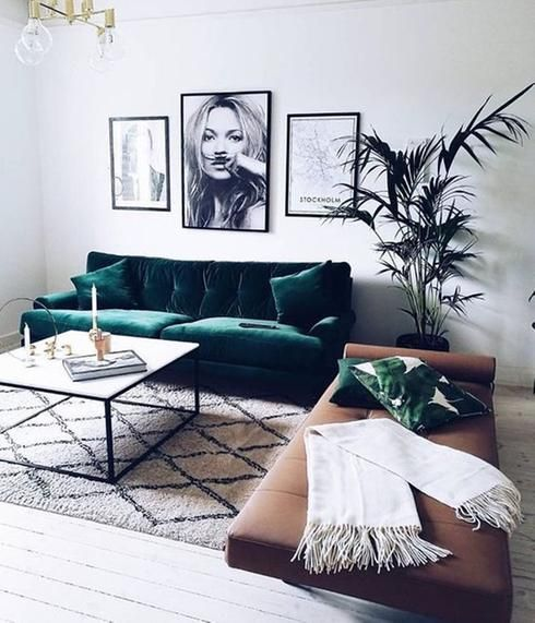tendances d coration dans le salon en 2017 s jour pinterest. Black Bedroom Furniture Sets. Home Design Ideas
