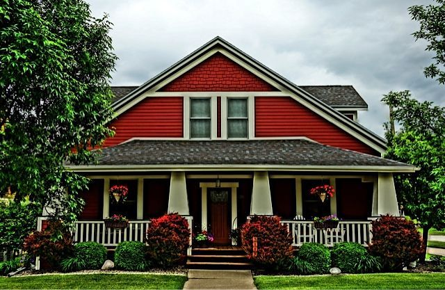 Red Brick Craftsman Bungalow
