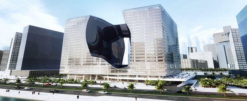 Zaha Hadid Architects - The Opus Office Tower Project in Dubai