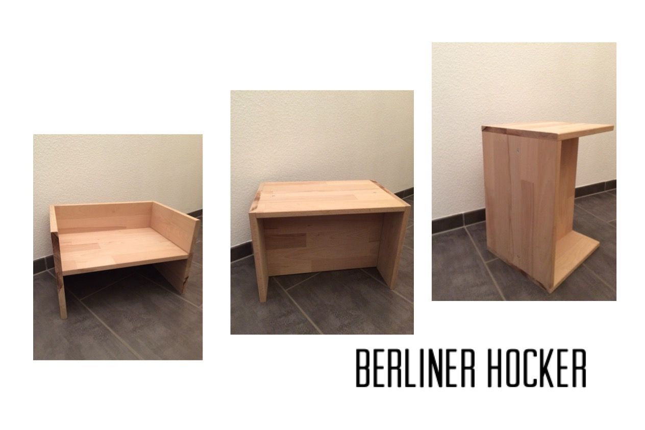 Berliner Hocker diy berliner hocker by sägemann schönes wohnen craft