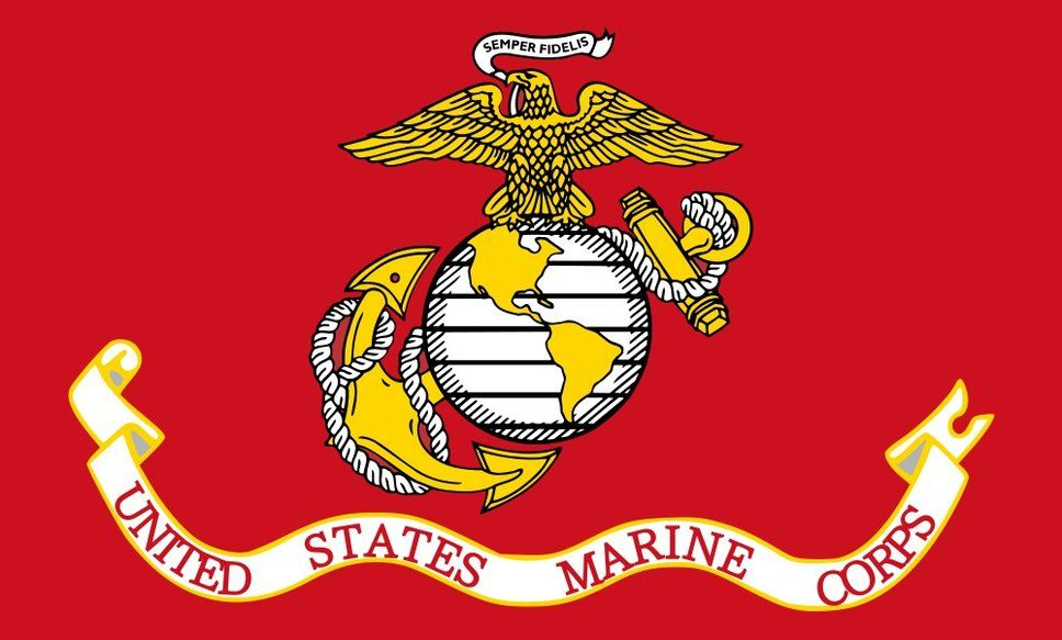 The Marine Corps Flag Wallpaper Forwallpaper Com United States Marine Corps Us Marine Corps Marine Corps
