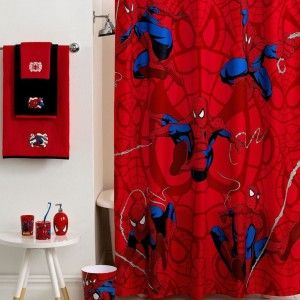 Cool Spiderman Bathroom Accessories For Boys Kids Bathroom
