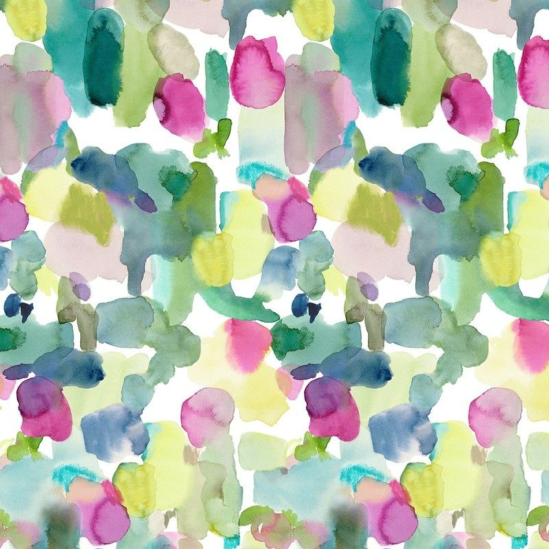 Ice Cream Wallpaper In Soft Blues And Multi From The Dream: Big Rothesay Wallpaper Panel Multi (56207-101)