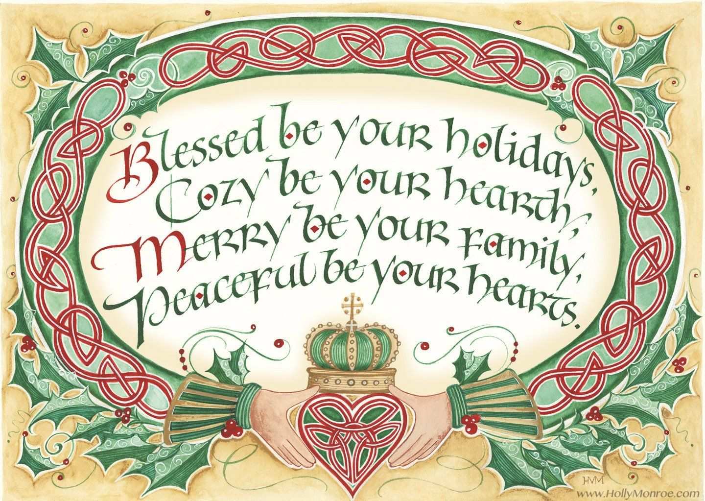 Blessed Be Your Holidays | Knots for jewelry | Pinterest | Christmas ...