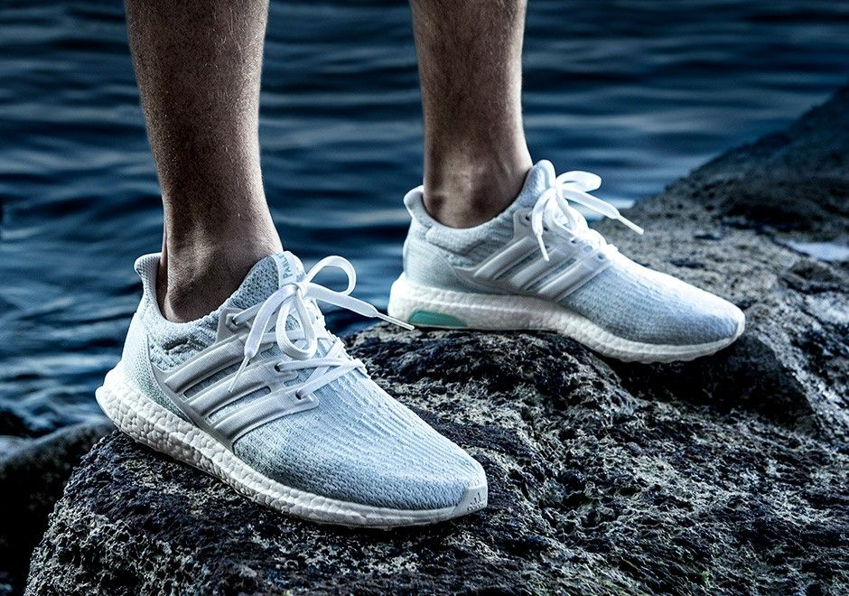 0cd23dc35b2b47 Parley x adidas Ultra Boost Footwear White Color  Footwear White Footwear  White-Icey Blue Style Code  CP9685 Release Date  June 28