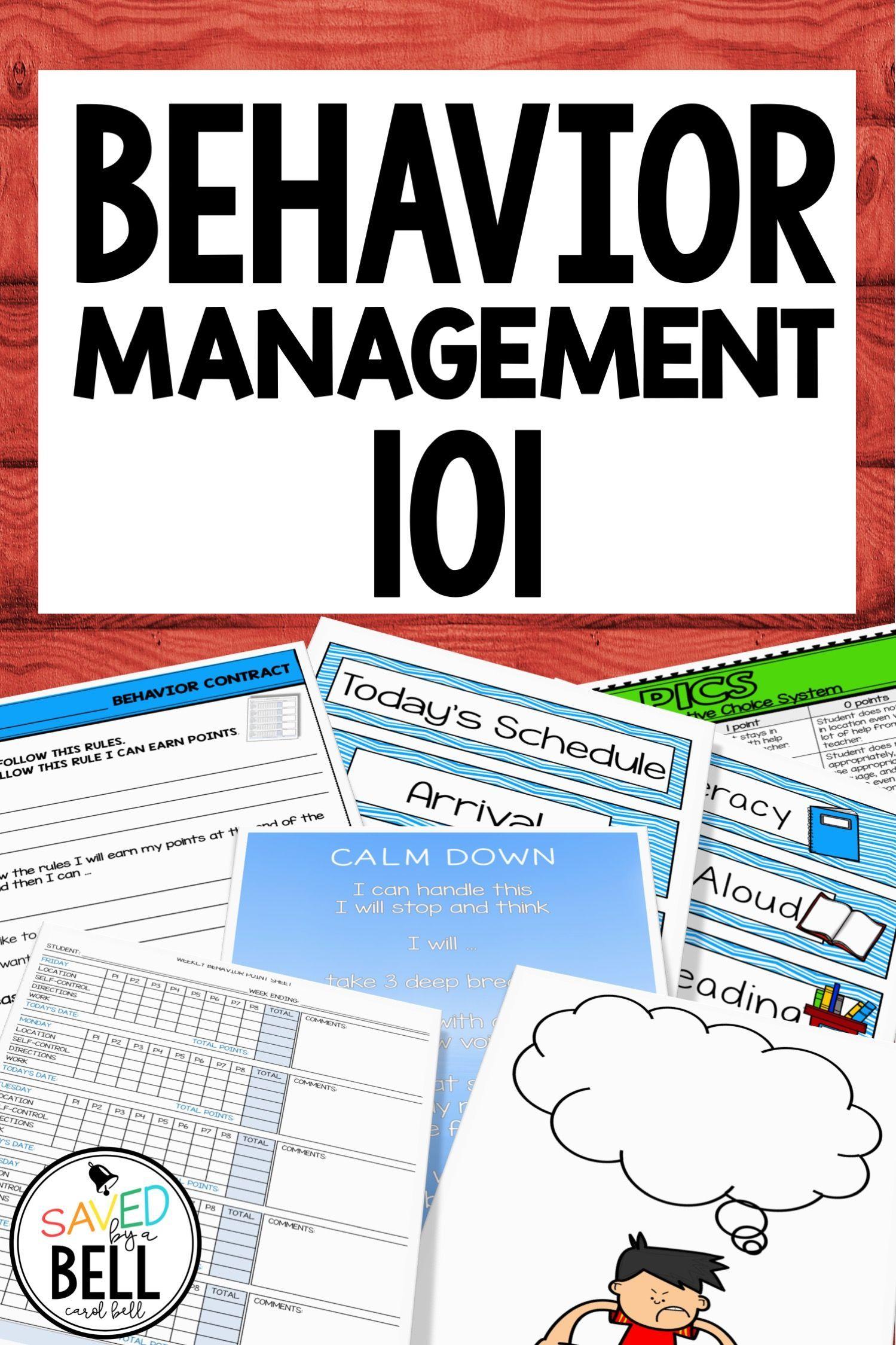 Back To School Classroom Behavior Management Bundle