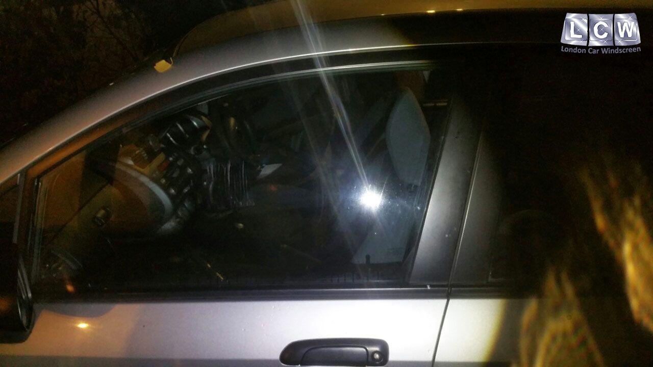 Honda Jazz Front Door Glass Replacement After Photo Honda Car