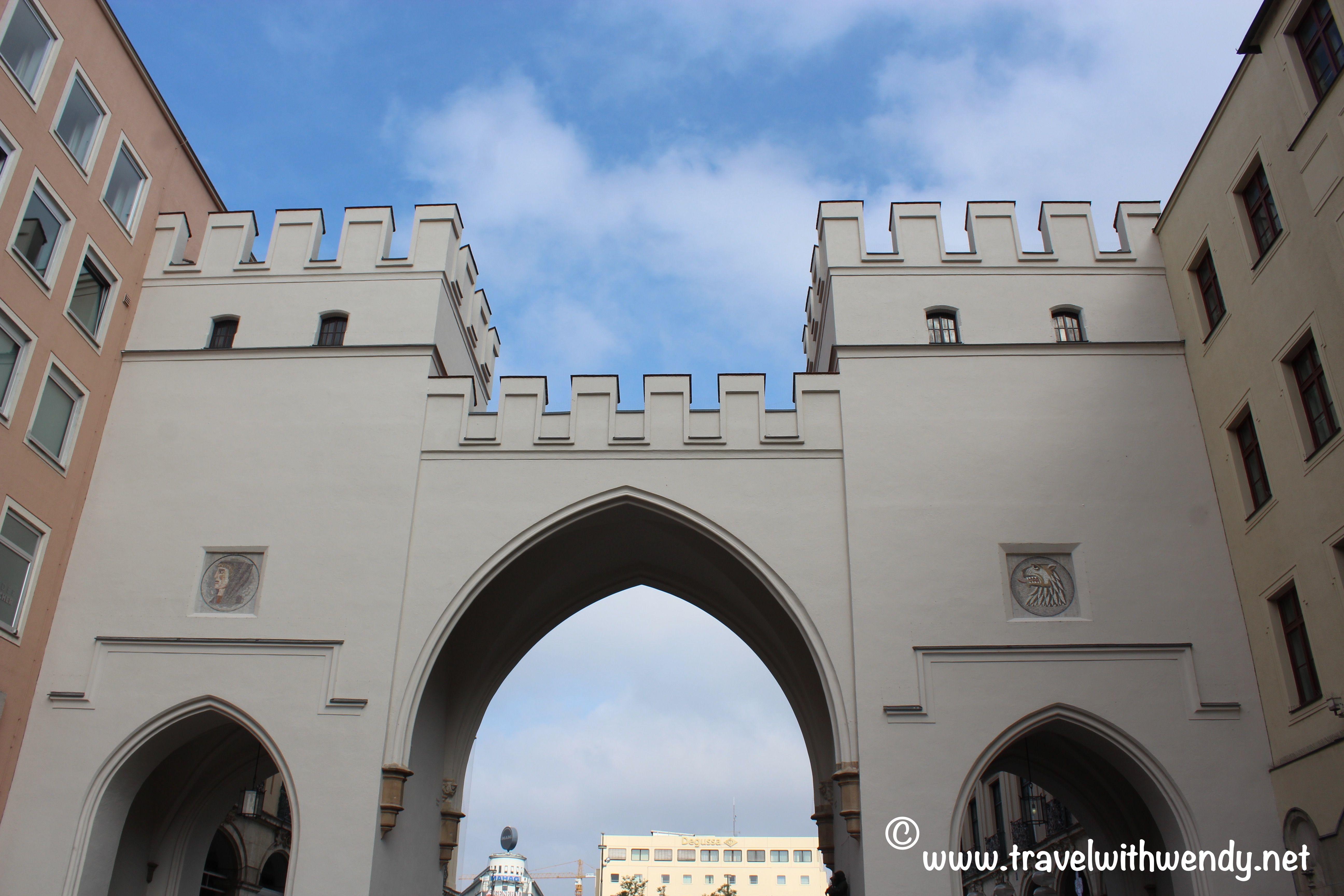 Charles Gate In Munchen 2016 Www Travelwithwendy Net Tvlwendy Travel Plan Your Trip Tour Guide
